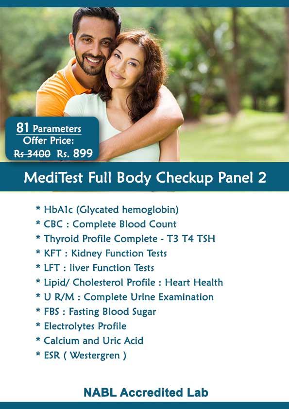 Full Body Checkup Panel 2