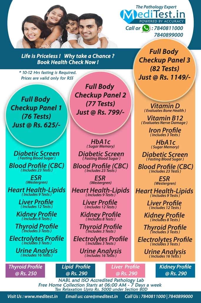 Full Body Checkup Price in Delhi