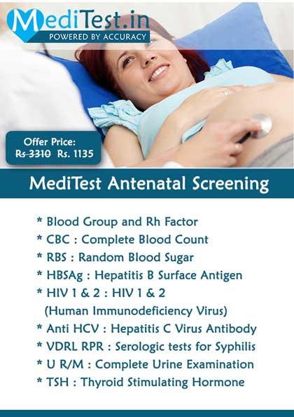 Antenatal test