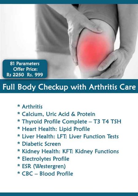 Full Body Checkup with Arthritis