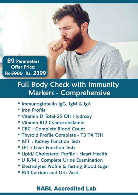 Full Body Checkup in Delhi whole Body Health Checkup cost price at home